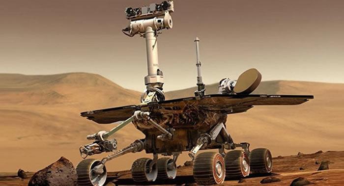 """美国国家航空航天局""""机遇号""""已在火星上度过5000个火星日"""