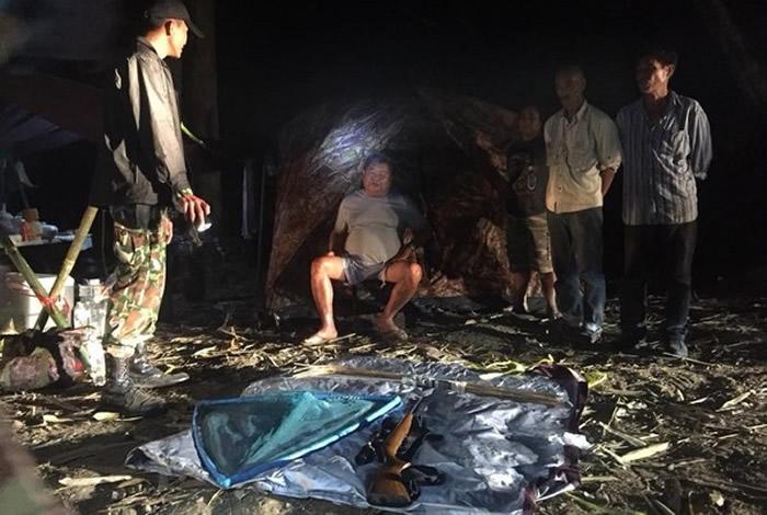 """泰国丛林煮""""黑豹汤"""" 盗猎者当场被逮捕"""