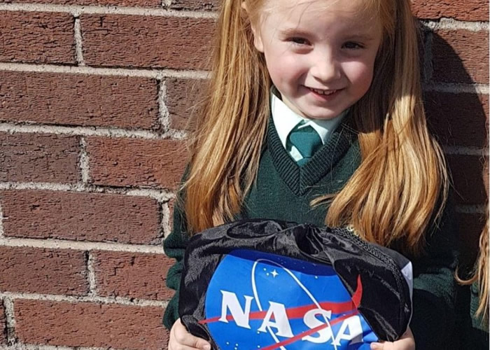 爱尔兰6岁小女孩想冥王星变回行星 获NASA认真回信