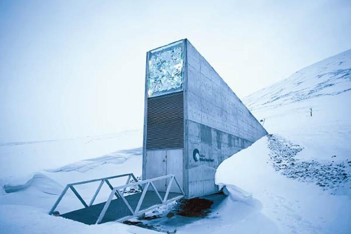 斯瓦尔巴全球种子库位于北极圈内。