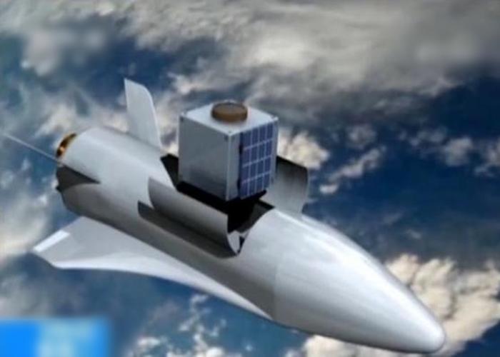 空天飞机既能载人、也能将卫星等器材送到太空。