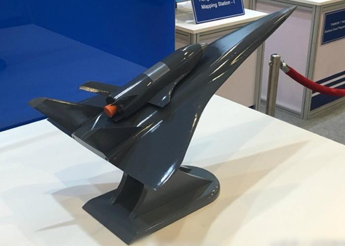 空天飞机的示范模型。