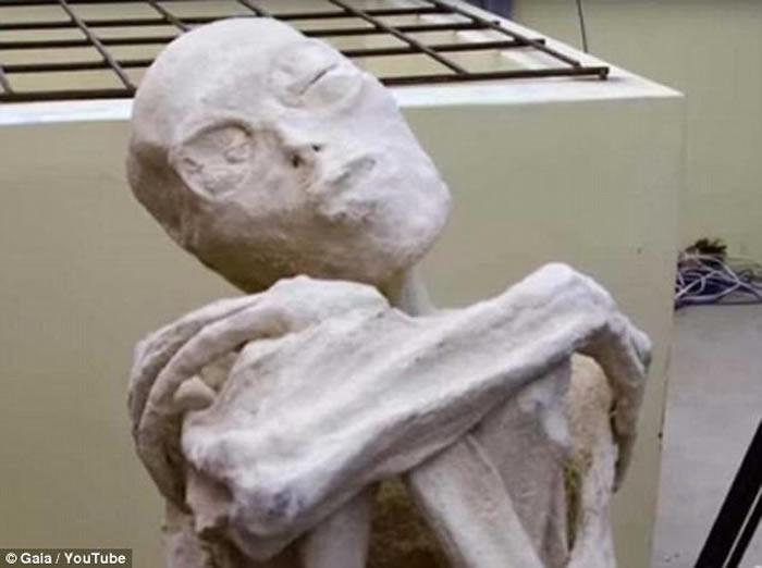 秘鲁古城发现的怪异木乃伊 俄罗斯科学家称确实是外星人