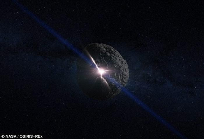 """直径500米小行星""""Bennu""""或2135年撞向地球 NASA制订应对方案"""