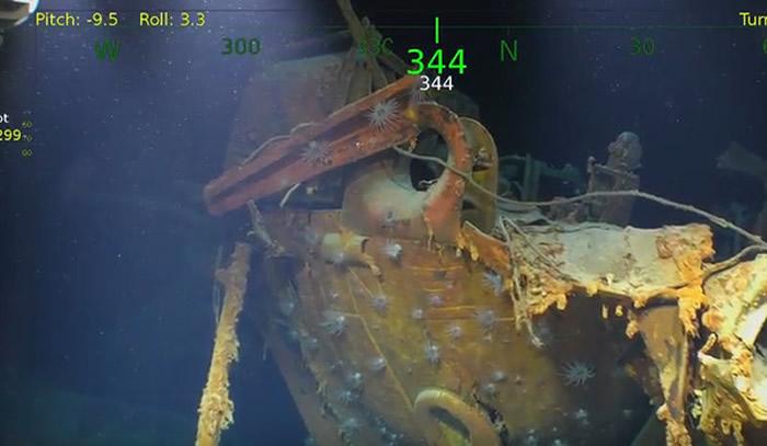 """所罗门群岛外海发现二战遭日军击沉的美军轻巡洋舰""""朱诺号"""" """"苏利文五兄弟""""全数阵亡"""
