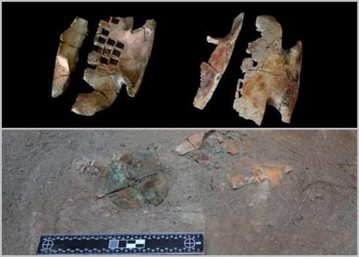 根据从秦人墓地内棺灰中清理出占卜用具估计,墓葬的主人为一名巫师。