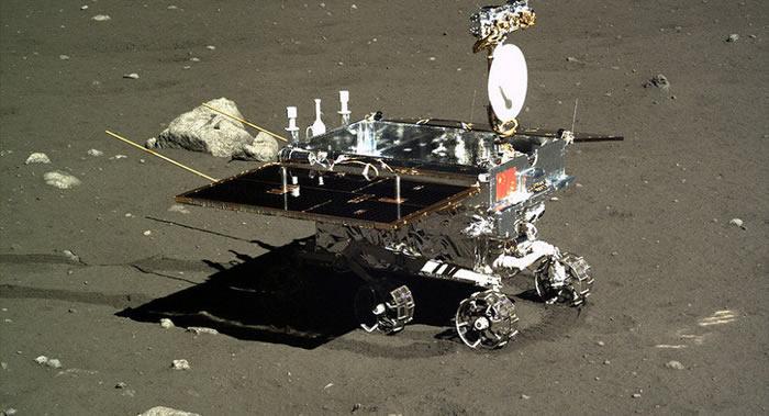 资料图:中国的月球车