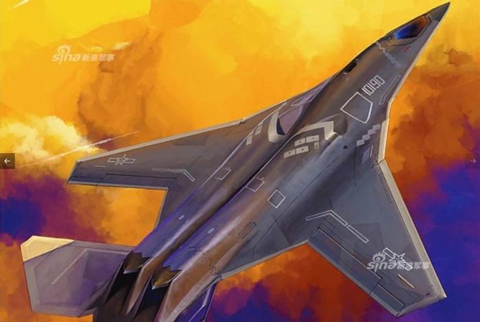 中国《航空知识》杂志披露轰-20隐形轰炸机的外观