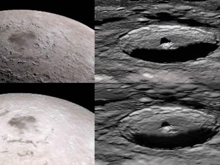 美国国家航空航天局(NASA)发布关于著名月球景观的虚拟旅行视频