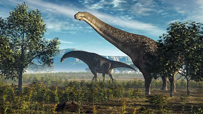 印度的化石遗产包括一种独特的蜥脚类恐龙。图片来源:WALTER MYERS