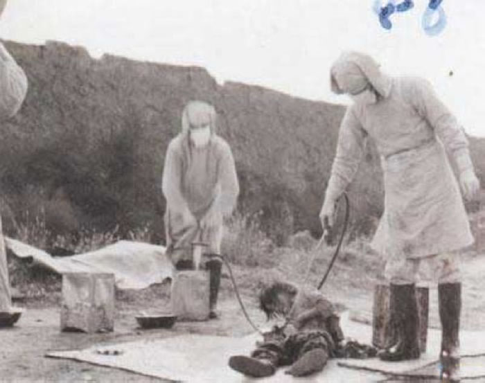二战日军731部队,又称「石井部队」,隶属日本帝国陆军。