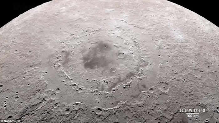 """美国太空总署(NASA)公开""""月球之旅""""4K超高清影片"""