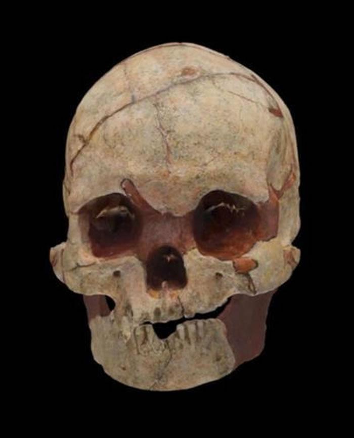 中国第二处旧石器时代墓葬:山顶洞人后再发现人类头骨化石