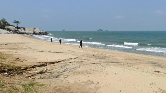 泰国受游客欢迎的Sai Noi海滩因鲨鱼伤人事件被关闭