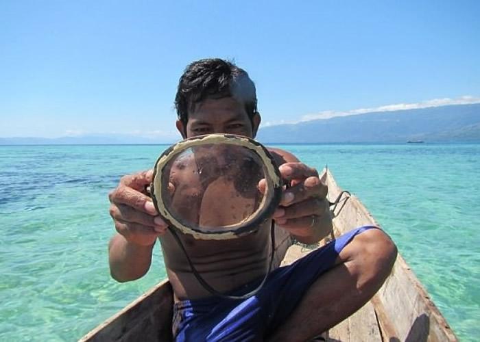 印尼巴瑶族人脾脏较常人大一半。