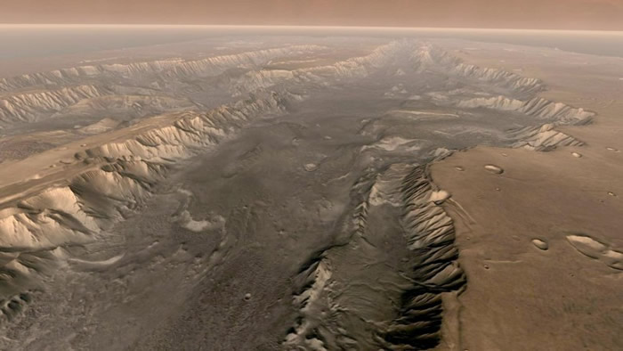 火星以前曾出现湖泊。