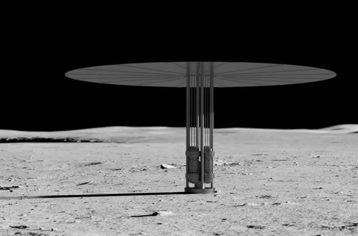 NASA计划进行便携式核反应堆飞行测试 可能被用于月球和火星任务