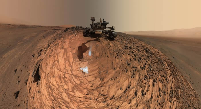 NASA计划2021年在火星探测任务中使用迷你直升机
