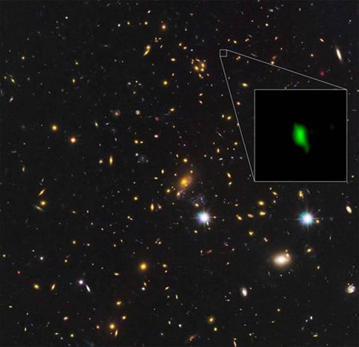 遥远星系MACS1149-JD1发现氧元素