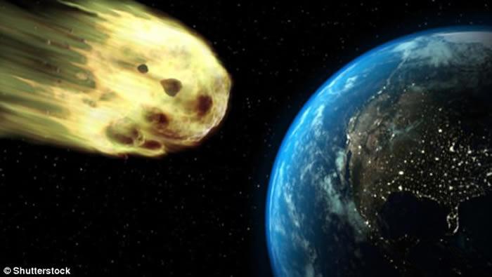 大小如足球场的小行星2010 WC9超近距离掠过地球