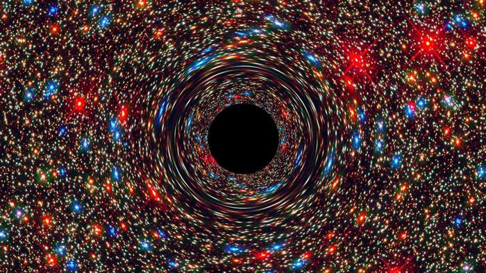 """澳洲天文学家发现""""怪兽黑洞"""" 每两日可吞噬一太阳"""