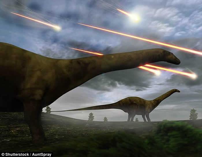 6600万年前小行星撞击地球不只造成恐龙灭绝 还让之后10万升温5度