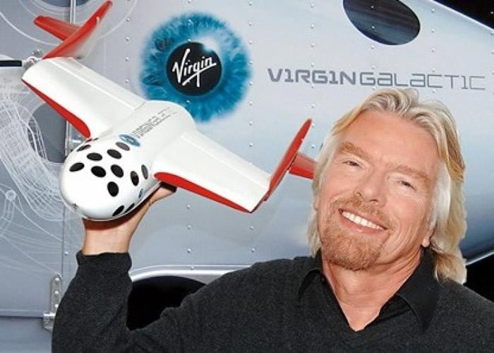 布兰森正积极进行体能及宇航员训练,预备漫游太空。