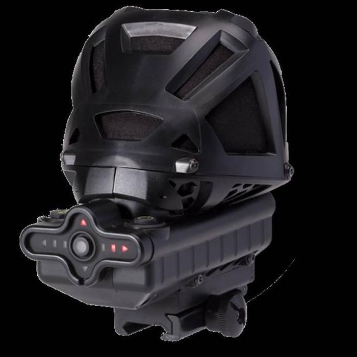 """称为""""珍珠""""的音源追踪器,就是由简单的LED箭头来指出枪声位置。"""