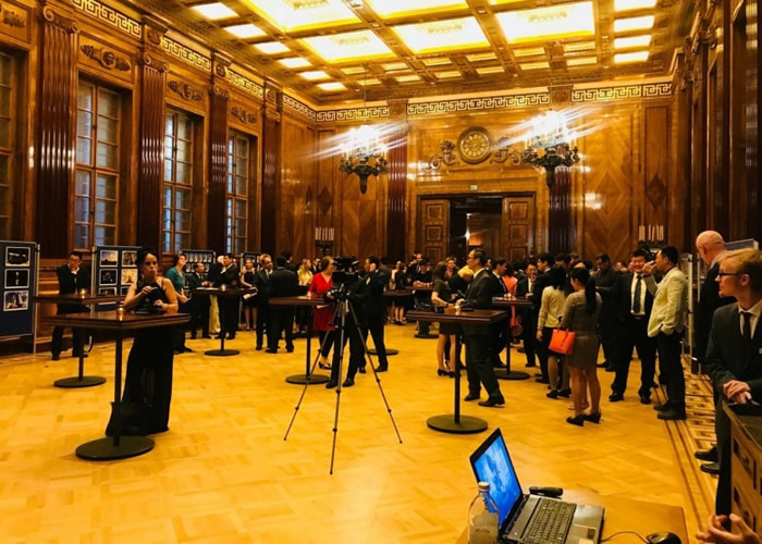 约120名相关国际组织代表及多国代表参与仪式。