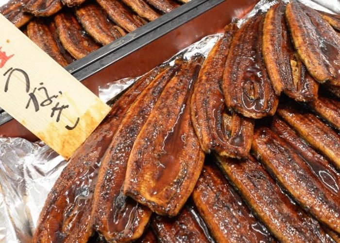 日本去年多达2.7吨由日本鳗制成的蒲烧鳗鱼因滞销过期而被丢弃