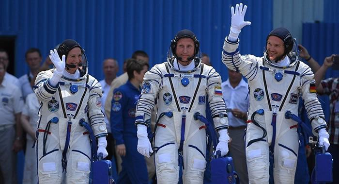 """""""联盟MS-09""""飞船乘组将加入国际空间站第56远征队"""