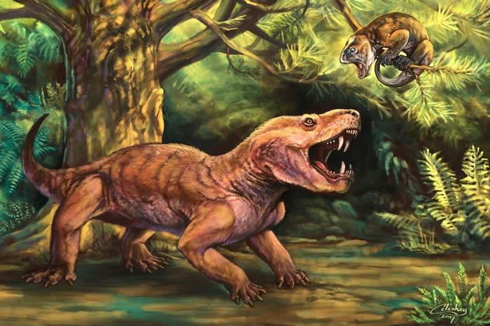 科学家用俄罗斯民间传说中的怪物为新发现的剑齿动物命名