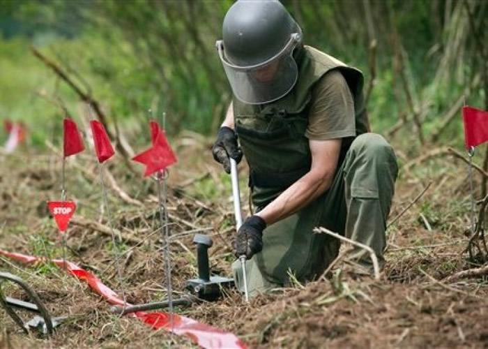 克罗地亚国内仍埋有不少南斯拉夫内战时遗下的未爆地雷。