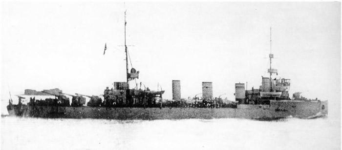 雅科布斯维尔德诺夫号曾参与第一次世界大战。