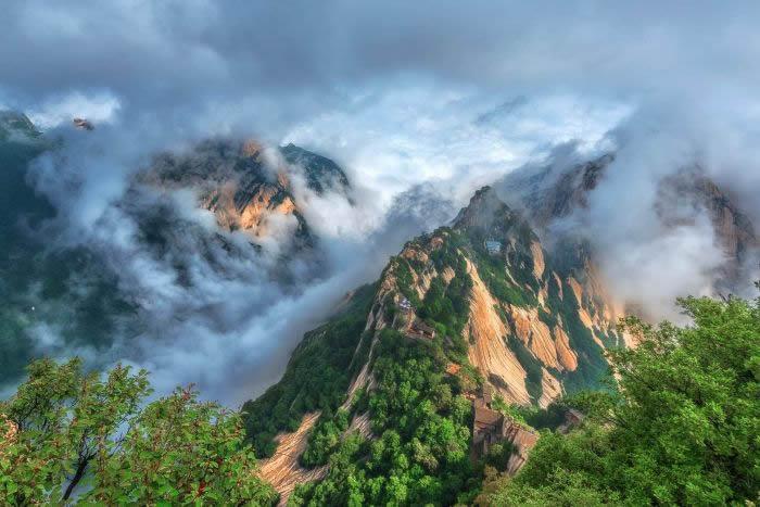 已经灭绝的长臂猿可能曾经住在陕西省的这些山上