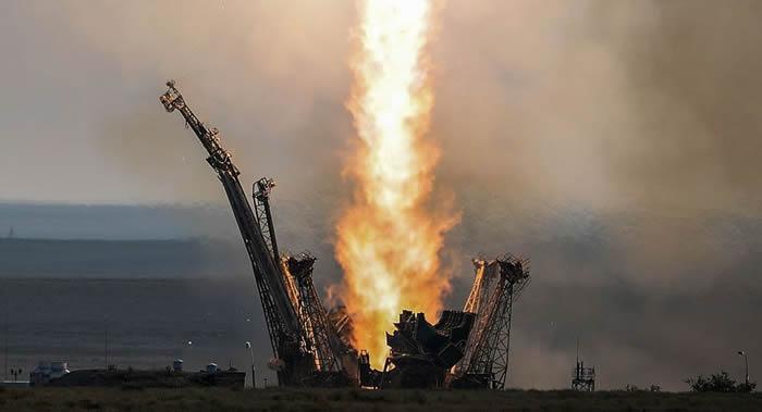 """俄罗斯搭载埃及EgyptSat-A卫星的""""联盟-2.1B""""运载火箭定于2018年底进行商业发射"""