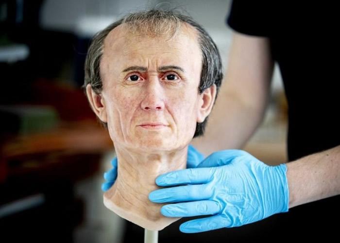 专家以3D打印技术重现被认为是最写实的凯撒大帝头像。