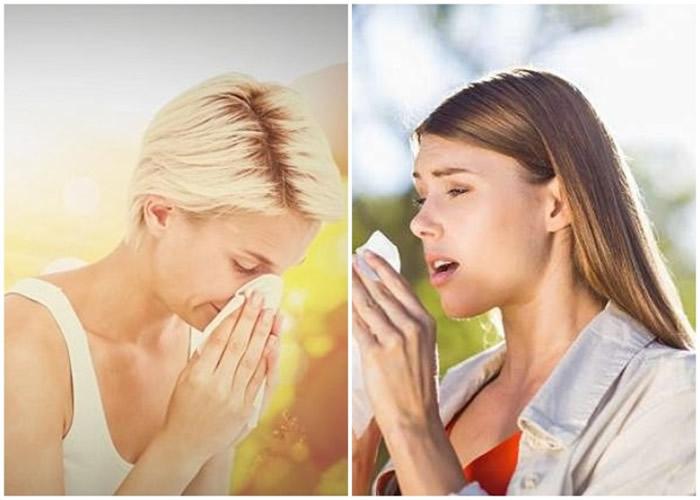 哮喘及花粉症人士受到花粉影响,部分时间流眼水和眼晴痕痒,打喷嚏及流鼻水。