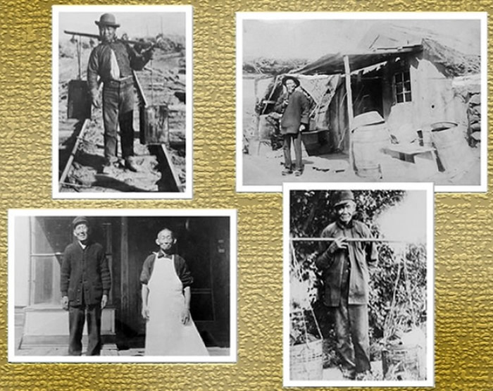 不少华人早年远赴美国掘金,其后客死异乡。