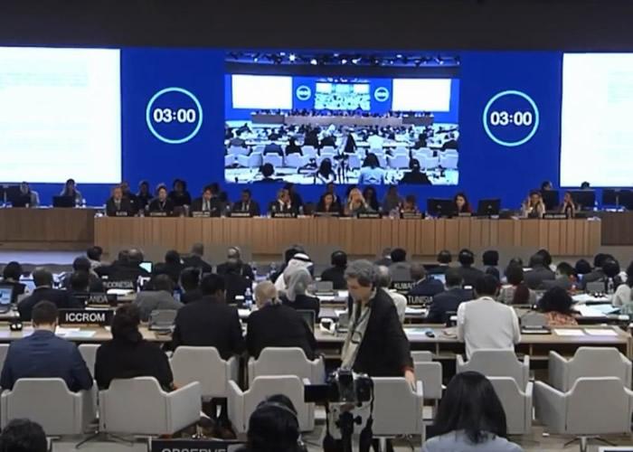 第42届世界遗产大会在巴林首都麦纳麦举行。