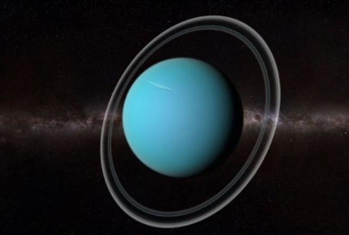《天体物理学》期刊:天王星40亿年前曾被大行星撞击 致倾斜及低温