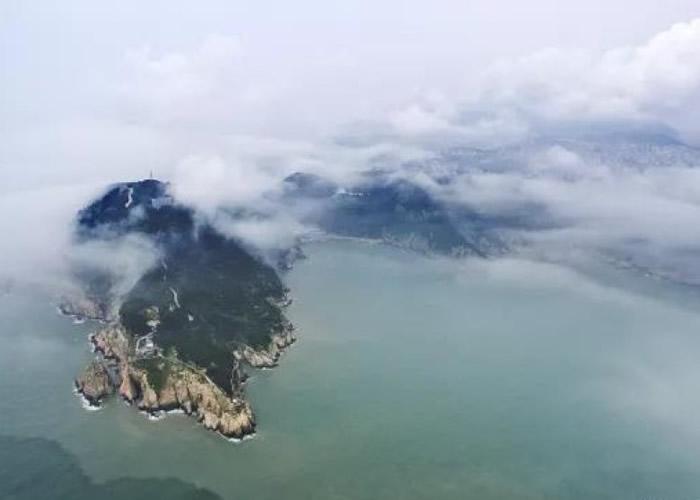 洞头海岛省级地质公园地处温州湾东部海域。