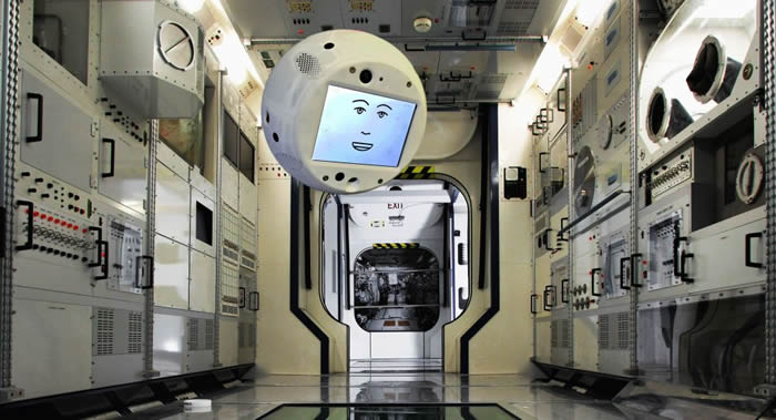 """太空机器人""""西蒙""""(CIMON)投入国际空间站工作"""