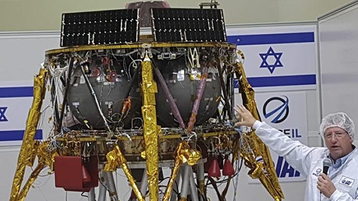 以色列非营利性组织SpaceIL打算在2019年2月将无人飞行器送至月球上