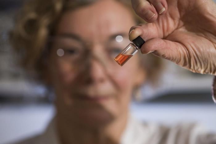 科学家在提炼的油页岩溶液中,发现相信是最古老的有机色素分子。