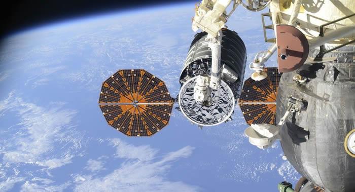 """""""天鹅座""""(Cygnus)货运飞船已脱离国际空间站"""