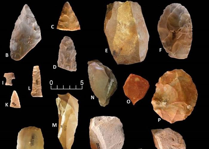 团队在高尔特遗址出土的石器,证明人类踏足北美洲比现时所知要早。
