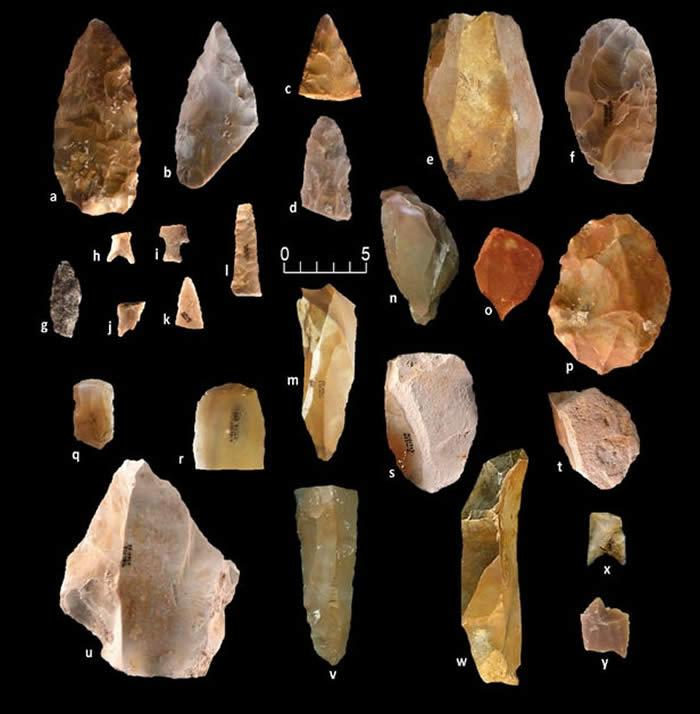 美国德克萨斯州发现的石器工具表明大约2万年前就有古人类在北美定居