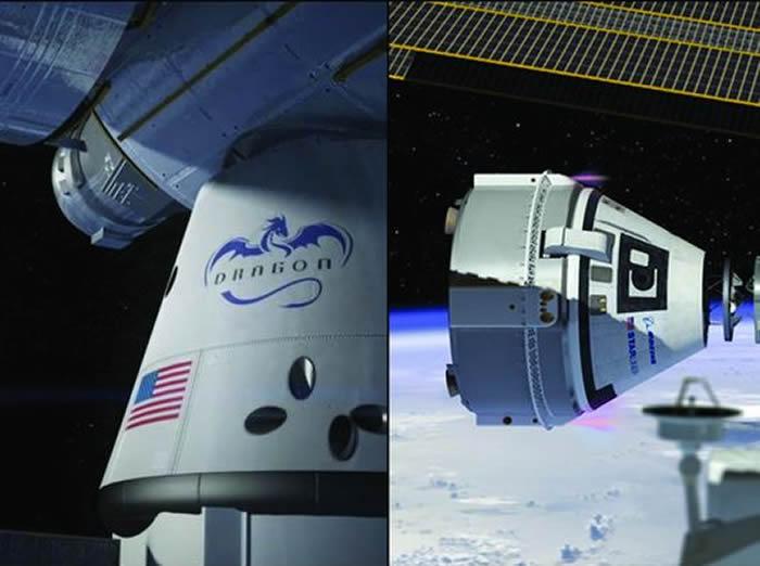 """NASA:正在建造的""""星际客机""""和载人版""""龙""""飞船的首飞宇航员选拔已经结束"""