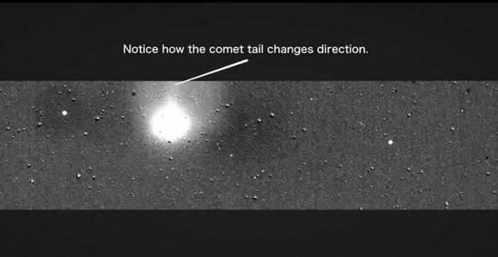 美国宇航局(NASA)凌日系外行星勘测卫星(TESS)拍摄到新彗星C/2018 N1